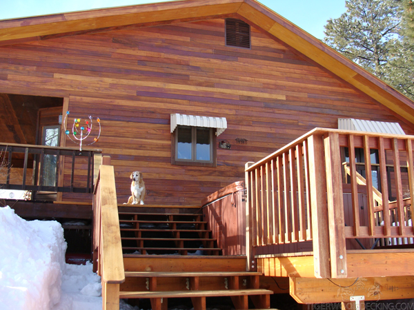 Tigerwoood SIding give your home a warm and inviting appearance that excels in any climate.