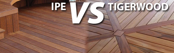 compare tigerwood decking